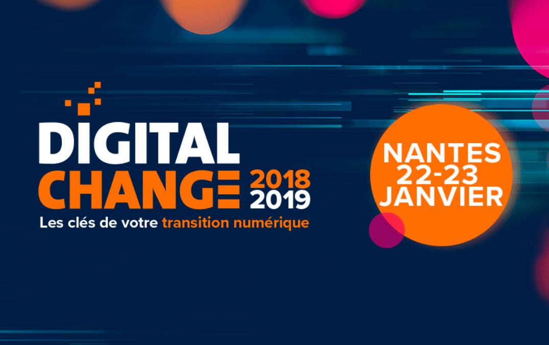 VÉNÉTIS NANTES & RÉFÉRENCE DSI AU DIGITAL CHANGE 2019