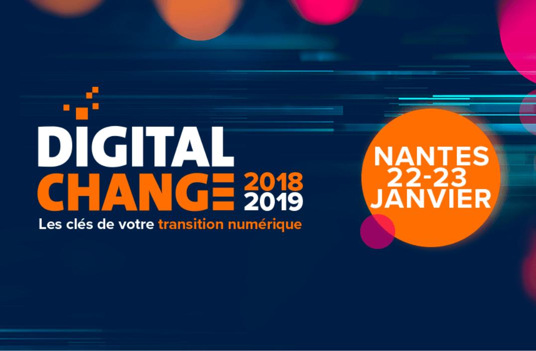 Vénétis Nantes et Référence DSI vous donne rendez-vous au Digital Change 2019